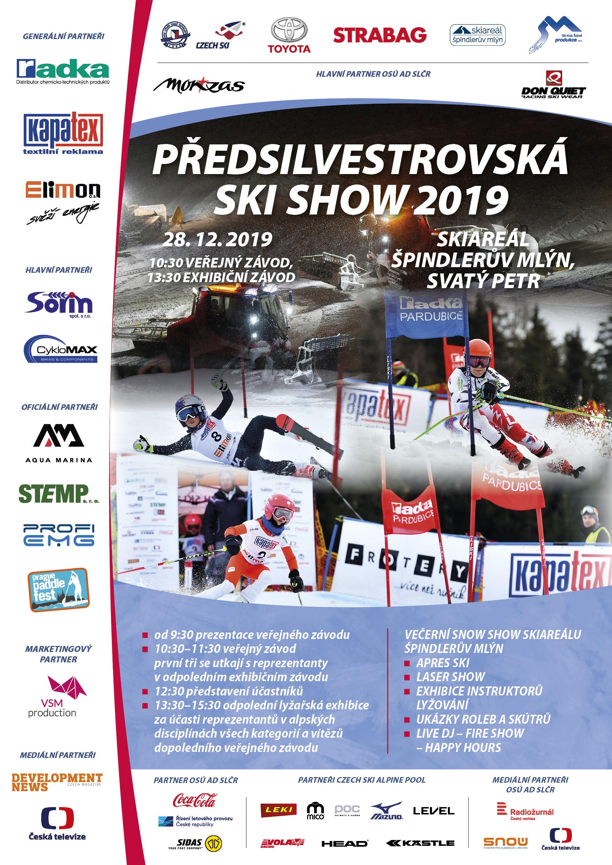 Předsilvestrovská ski show 2019